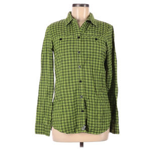 Fox Women's Size Small Button Up Plaid